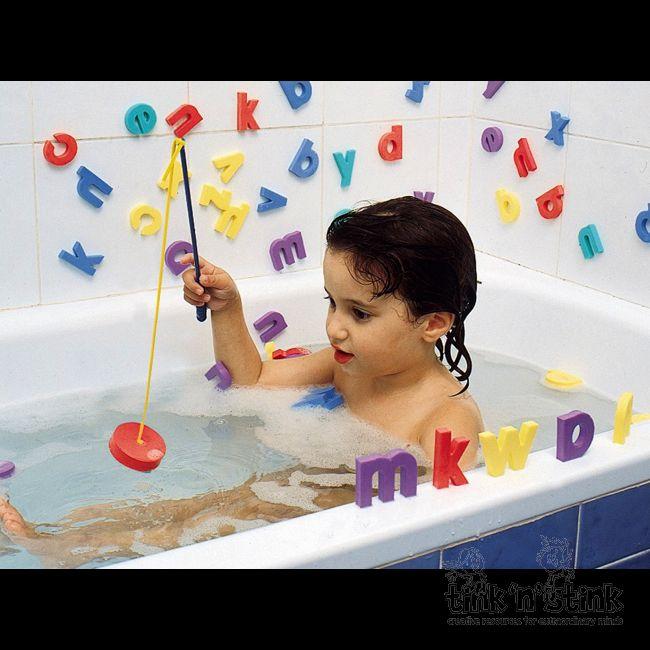 Literki do kąpieli