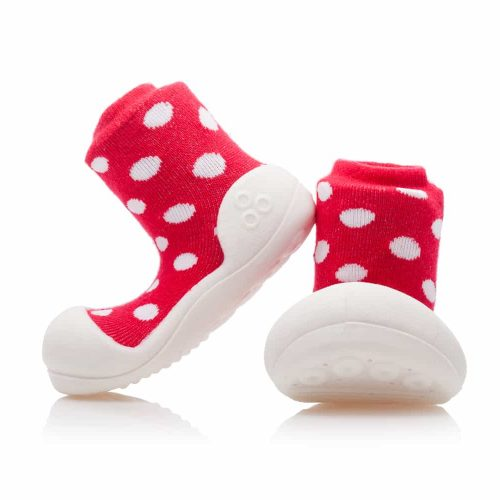 Buciki Attipas POLKA DOT RED