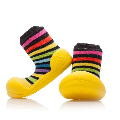Buciki Attipas RAINBOW YELLOW