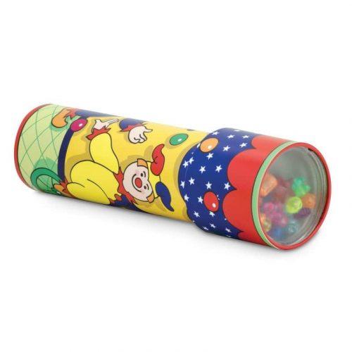 Klasyczny kalejdoskop z klaunem