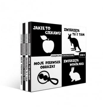 Kontrastowe książeczki Box