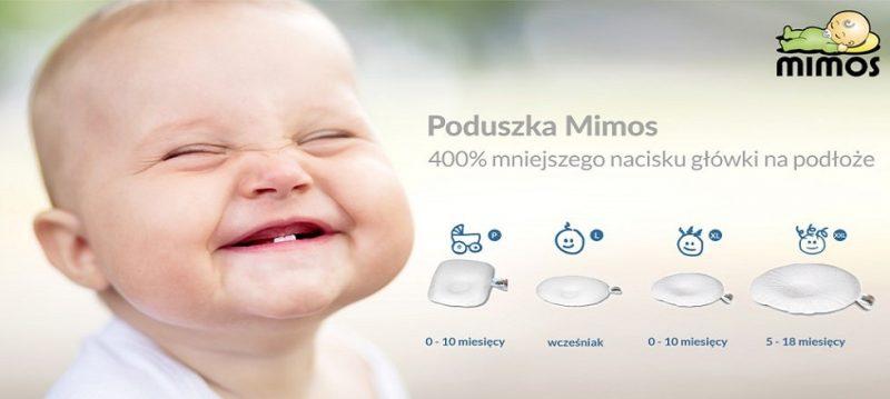 Poduszka Mimos 0-18 miesięcy